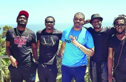 Jude Okoye, P-Square, Don-Jazzy & Clarence Peters In South Africa