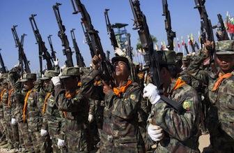 Myanmar Troops