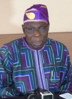 Obasanjo: when he launched his attack on Jonathan today