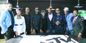 •Panelists with Alx Okon