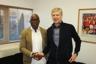 Pimmick and Arsene Wenger