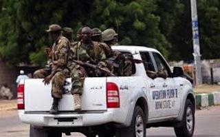 Soldiers Patrol