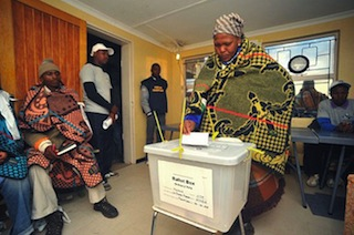 Lesotho Election