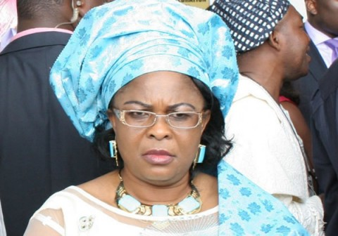 Patience Jonathan: the accident victims went to see her off