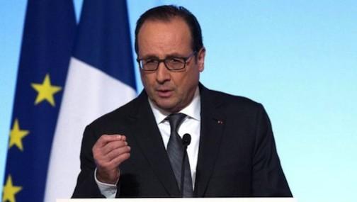 President Francois Hollande of France
