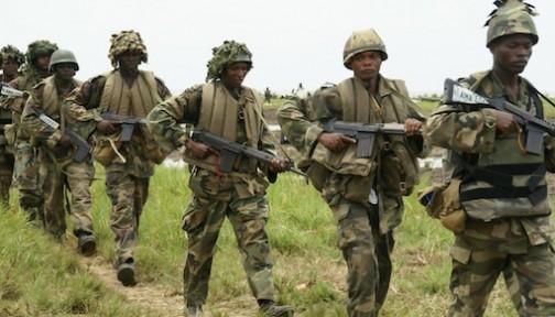 FILE PHOTO: Nigerian Troops