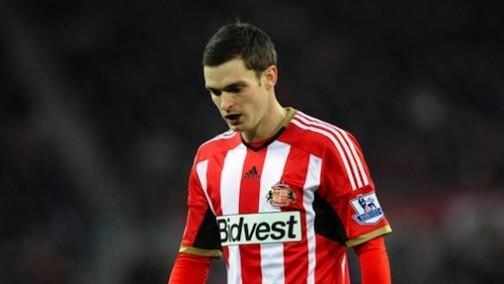 Adam Johnson in Sunderland's colour