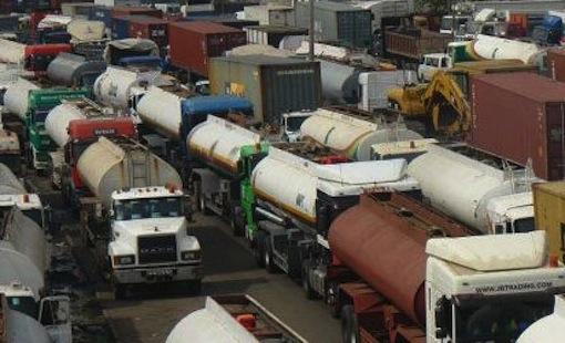 Apapa Oshodi traffic Tanker