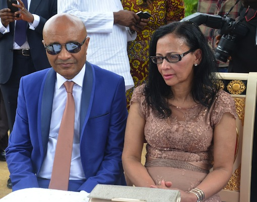 Parents of the bride, Mr and Mrs Fortes