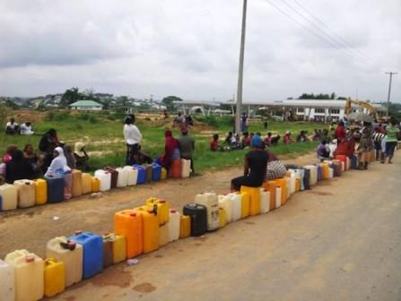 FILE PHOTO: Kerosene Queue