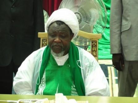 Sheikh Ibraheem Zakzaky, leader of the Islamic Movement of Nigeria (IMN)