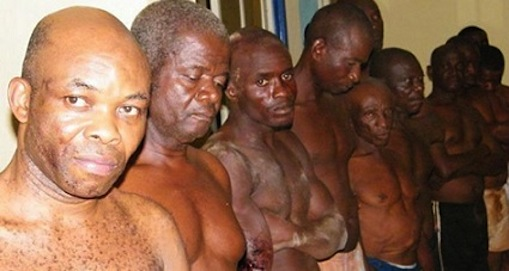 The Biafra Zionists when they were arrested