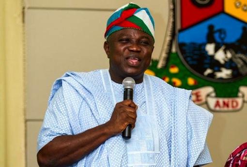 Governor Akinwunmi Ambode of Lagos State Ambode Smiles