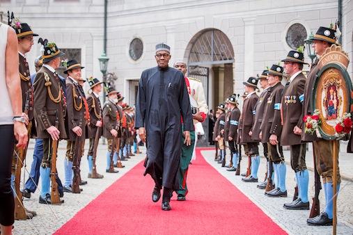 Germany Buhari
