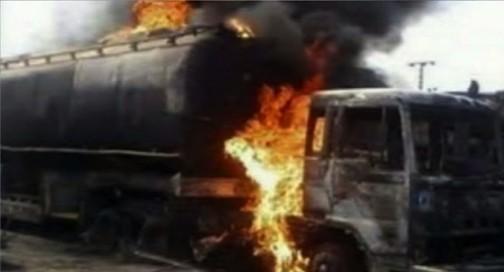 FILE PHOTO: Tanker explosion in Nigeria