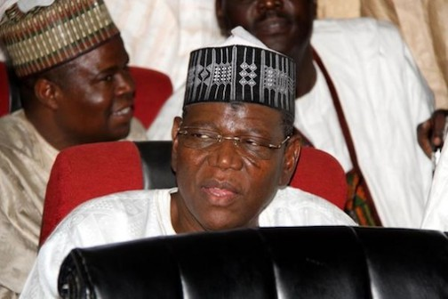Sule Lamido during court proceedings