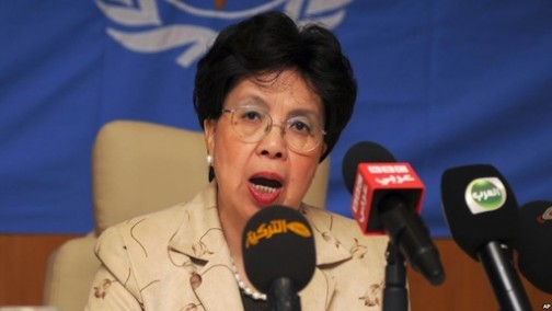 Margaret Chan, Director General of WHO