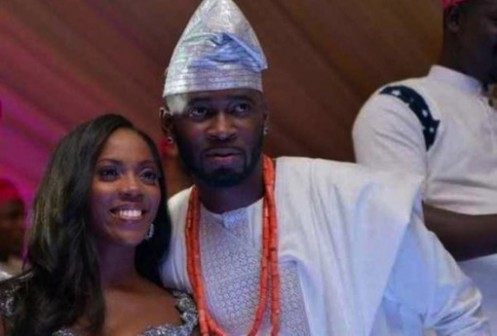 Tiwa Savage and her husband, Tunji Balogun