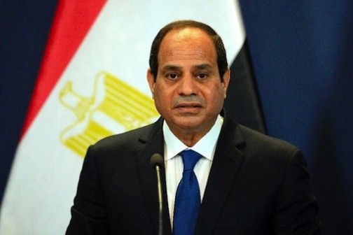 Egypt's President Abdel Fattah al-Sisi  (AFP Photo/Attila Kisbenedek)
