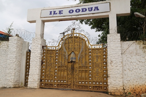 0109:' ILE OODUA' under lock and key