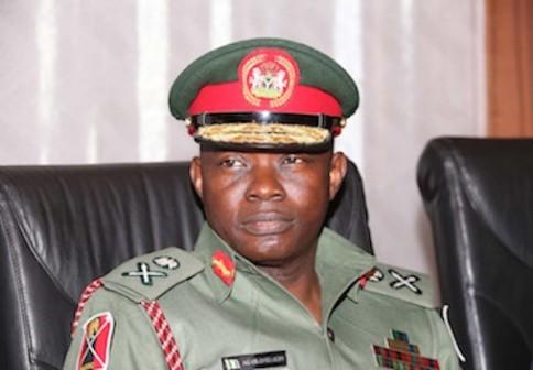 Major General Abayomi Gabriel Olonisakin, Nigeria's Chief of Defence Staff