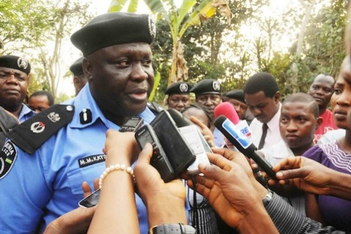 Commissioner of Police, Muhammad Katsina Photo: NAN