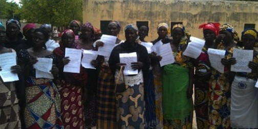 FILE PHOTO: Parents of kidnapped Chibok girls