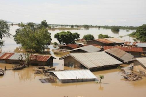 River Niger flood
