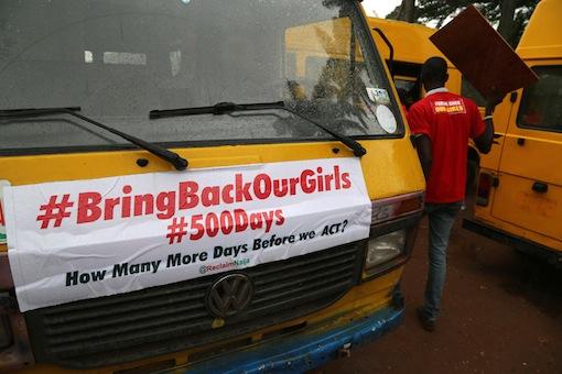 Nigeria marks 500 days of Chibok Girls abduction. Photo Idowu Ogunleye