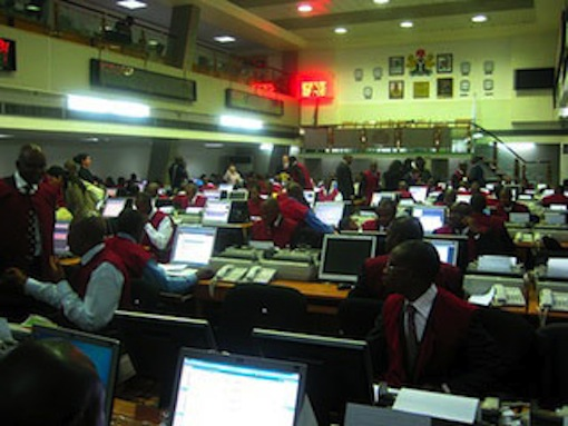 Dealers at the Nigeria Stock Exchange