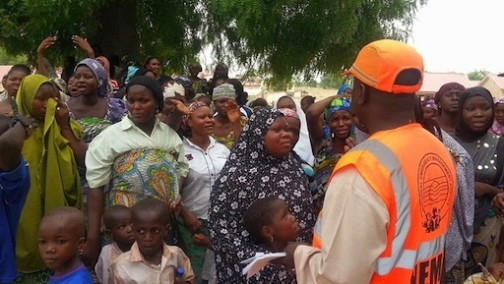 Internally Displaced Persons in the North East of Nigeria