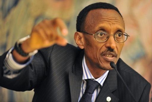 President Paul Kagame of Rwanda seeks third term