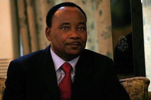 President Mahamadou Issoufou of Niger