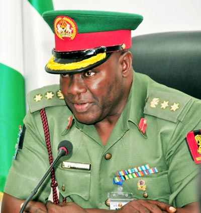 Colonel Rabe Abubakar, Director of Defence Information