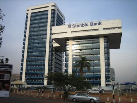 FILE PHOTO: A Stanbic IBTC building in Nigeria