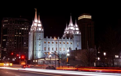 The Mormon Church in the city of Utah, USA. Photo: IBT US