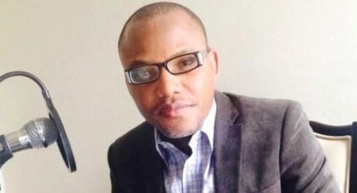 Mazi Nnamdi Kanu, a director of Radio Biafra
