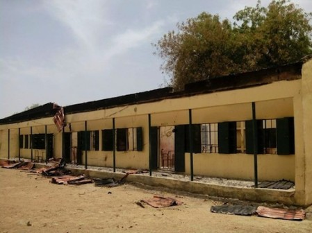 FILE PHOTO: Chibok public school where over 200 schoolgirls were abducted by Boko Haram militants on April 21, 2014 ©Str (AFP/File)