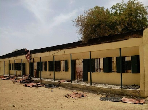 Chibok public school where over 200 schoolgirls were abducted by Boko Haram militants on April 21, 2014 ©Str (AFP/File)