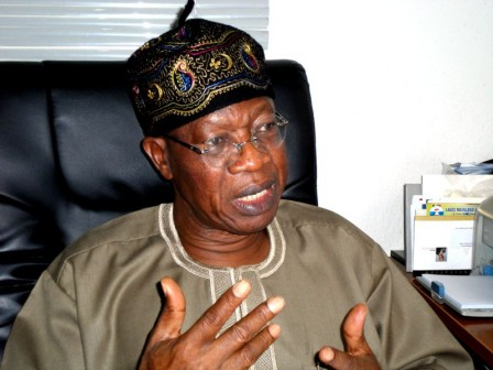 Lai Mohammed, Minister of Information, Culture and Tourism Development