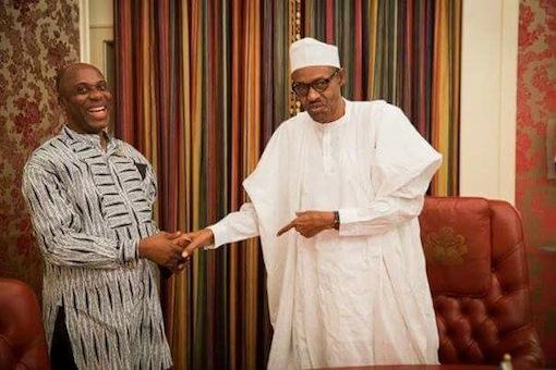 Rotimi Amaechi and President Muhammadu Buhari