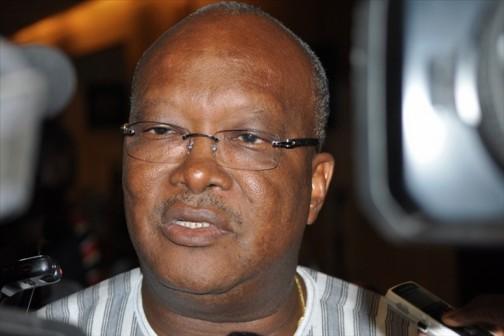 Burkina Faso President, Roch Marc Christian Kabore