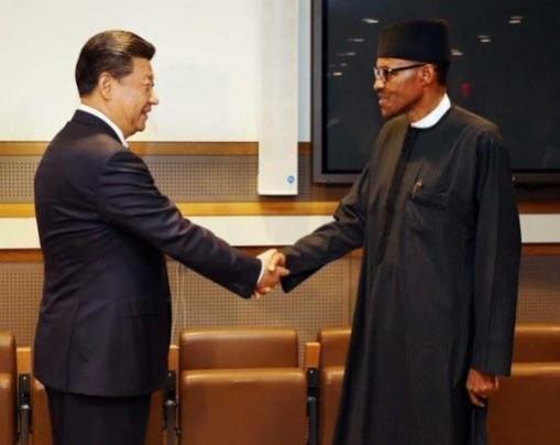 Xi Jinping Buhari