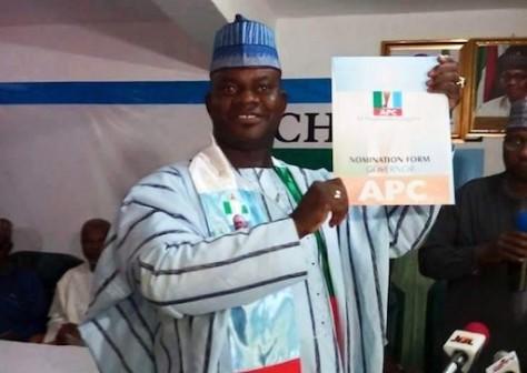 Yahaya Bello sworn in as Kogi governor
