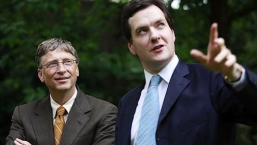 Bill Gates and George Osborne both see an end to malaria