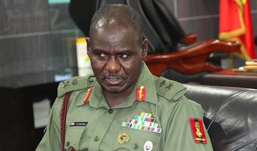 Chief of Army Staff, Lieutenant General Tukur Buratai