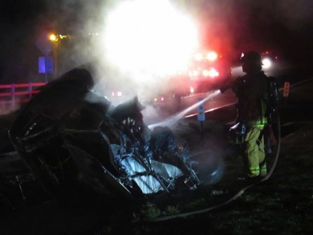 The driver is suspected of being drunk.  Photo: Safety For Citizens