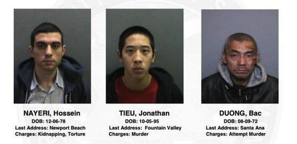 California Prisoners Escape