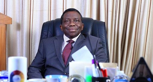 Dr Isaac Adewole, Nigeria's Health Minister