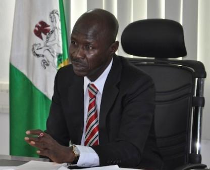 Acting EFCC boss, Ibrahim Magu